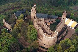 Das Auerbacher Schloss Ist Im Augenblick Am Leichtesten
